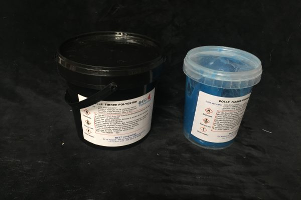 Resine Colle fibree